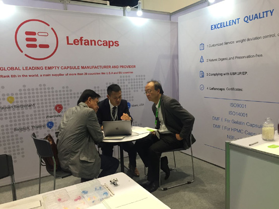 Lefancaps® Attracts Global Visitors at CPHI South East Asia